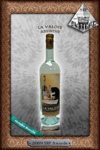 SIP Award Platinum La Valote