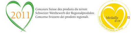 Swiss Contest of Regional Products 2011 - Gold Medal