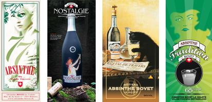 Les 4 Absinthes Bovet